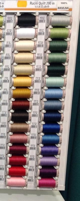 šicí nitě Gütermann 100%Bavlna 200m pro ruční šití
