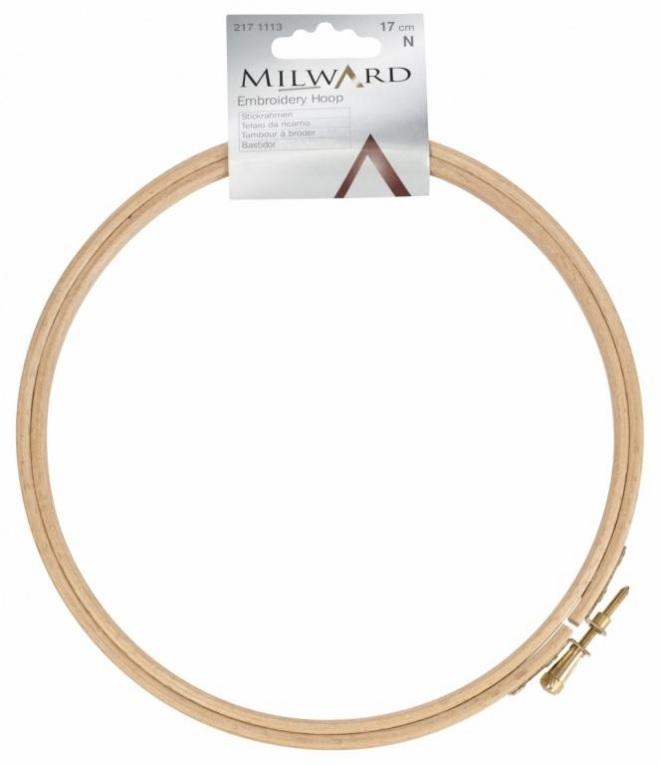 rámeček na vyšívání dřevěný 15cm Milward