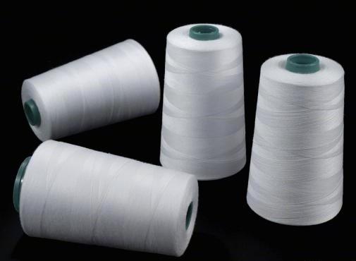nit 100% PES-40/2-5000Yds-pro overlocky barva bílá