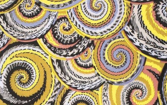 látka spring 2014-curly baskets-natural 100%bavlna/110cm rowan