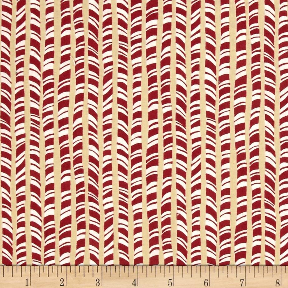 látka  100%bavlna winter wonderland-peppermint sticks-nutm  110cm šíře/rowan