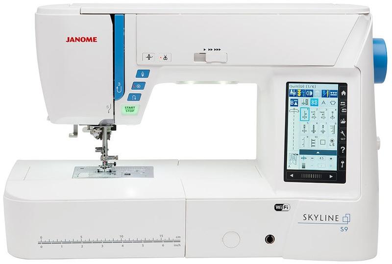 šicí a vyšívací stroj Janome Skyline S9 + sada kvalitních jehel Organ ZDARMA