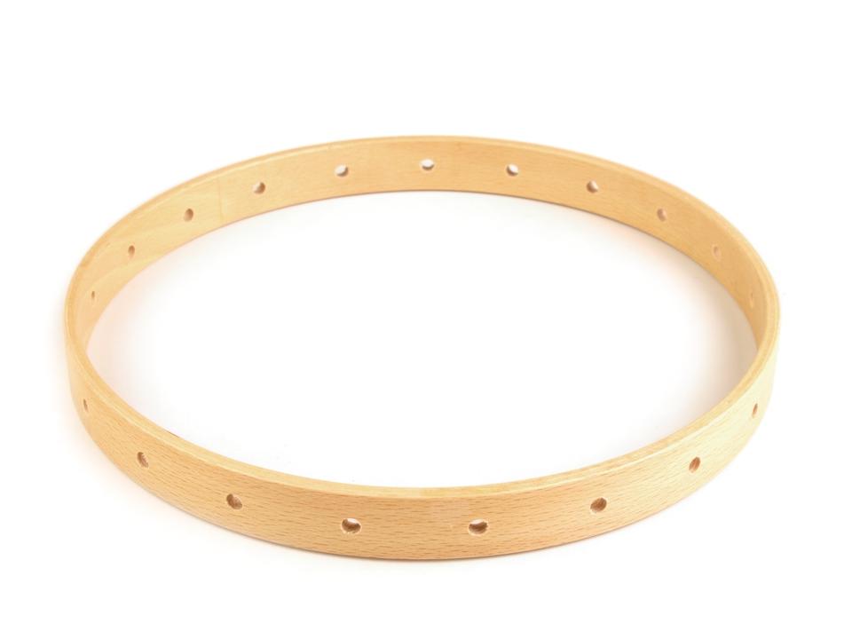 pro lapač snů/zvonkohru dřev.kruh 21cm