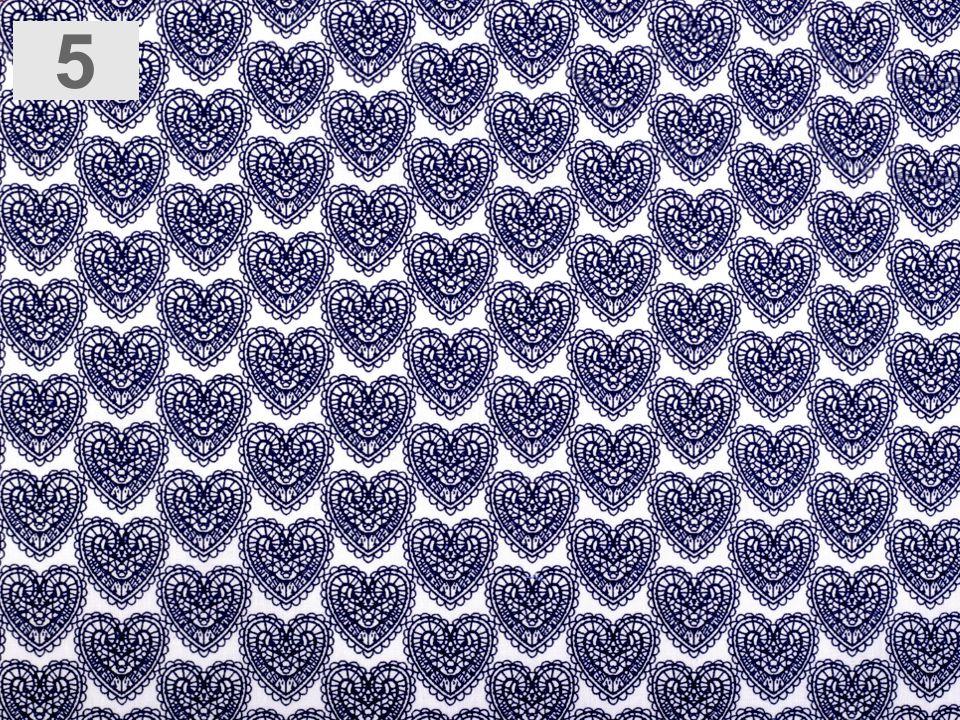 látka srdce 100%bavlna,šíře 140cm,110g/m2
