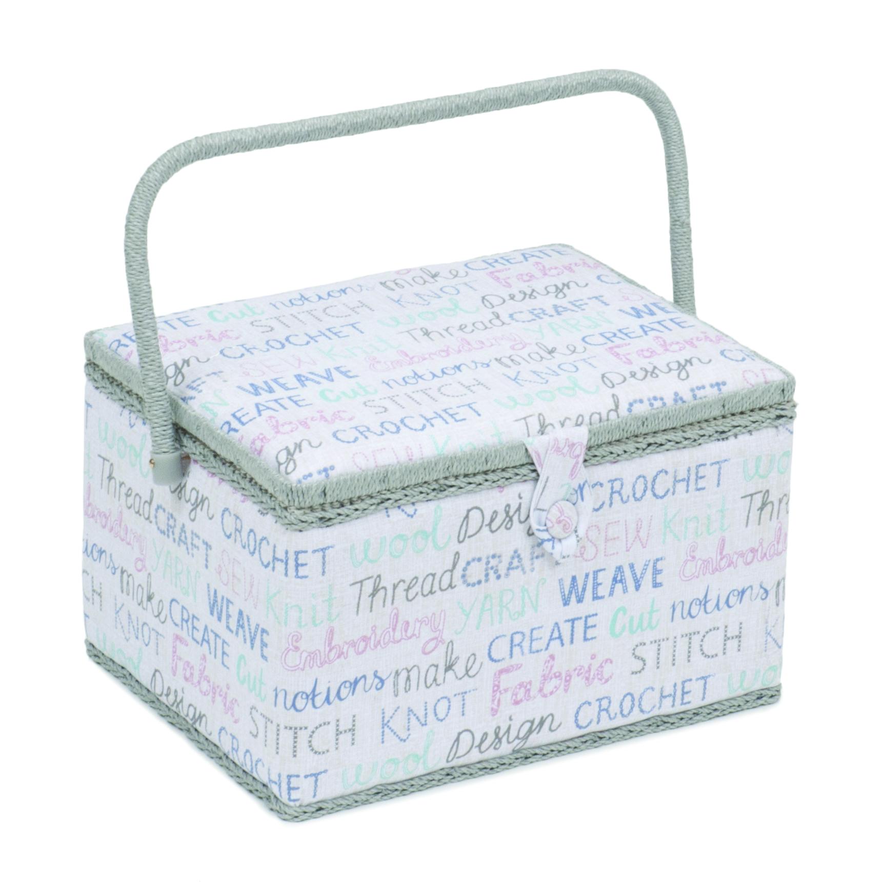 košík na šicí potřeby písmo L