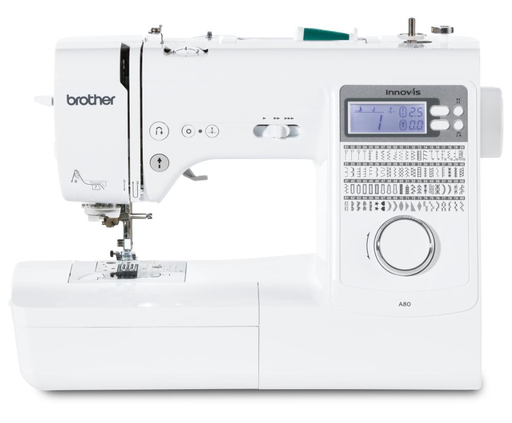 šicí stroj Brother Innov-Is A80 + sada kvalitních jehel Organ ZDARMA