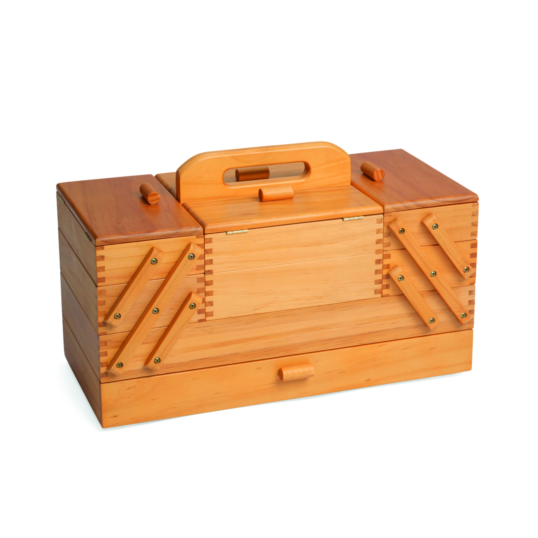 kazeta na šití dřevěná 45x23,5x32cm