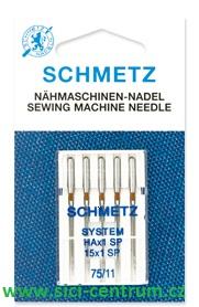 jehla pro overlock Schmetz 5ks/90 Super Stretch