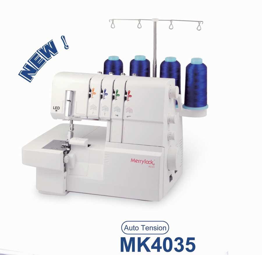 overlock Merrylock MK 4035 + sada kvalitních jehel Organ ZDARMA
