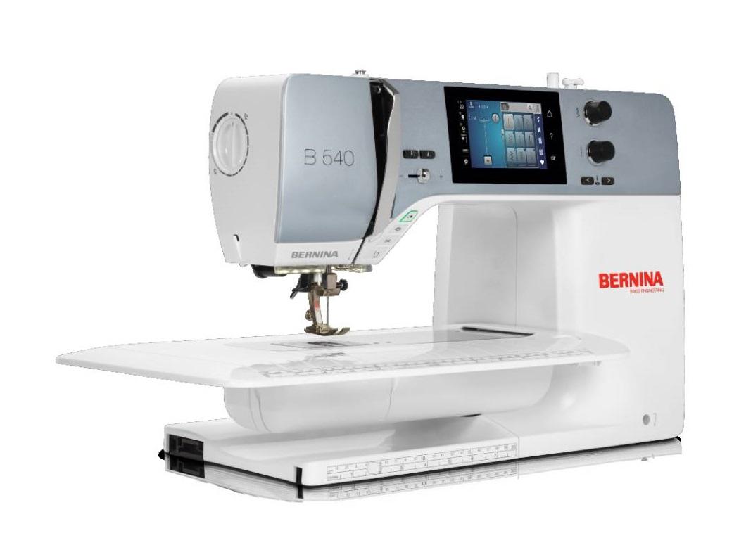 šicí stroj Bernina 540QE + sada kvalitních jehel Organ ZDARMA