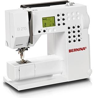 šicí stroj Bernina 215 + záruka 5 let + sada kvalitních jehel Organ ZDARMA