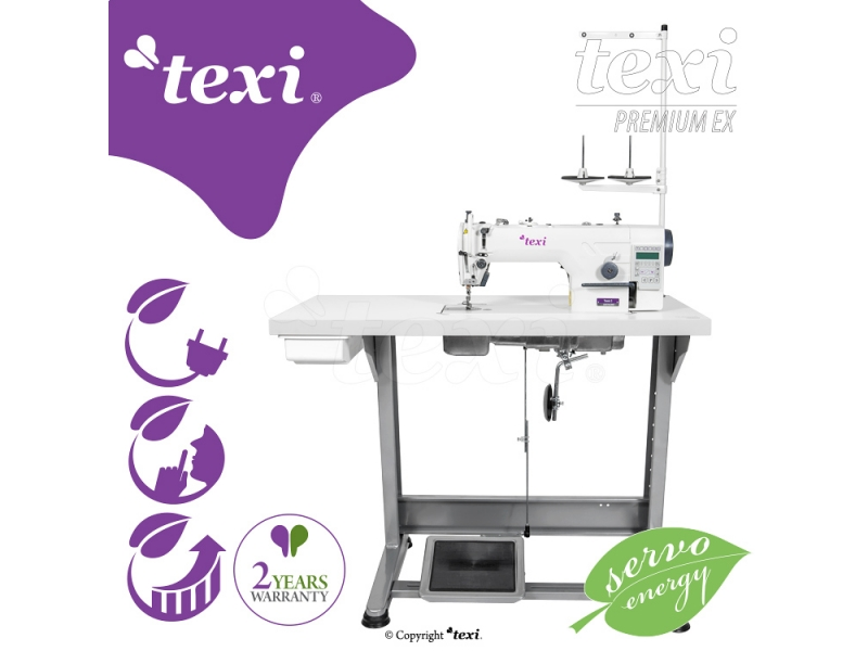 1-jehlový šicí stroj Texi TRONIC 6