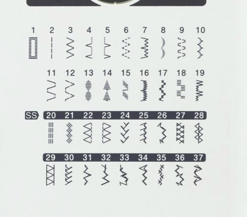 šicí stroj Brother HF37 + taška ZDARMA-2