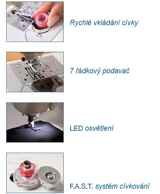 šicí stroj Brother NV 55 FE + dárek-3