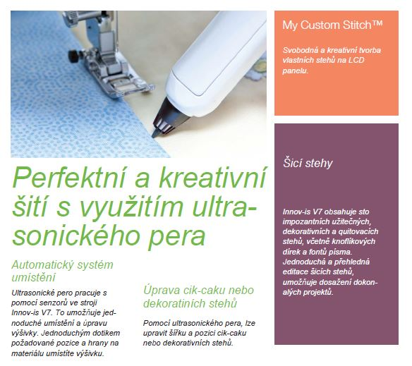šicí a vyšívací stroj Brother INNOV-IS V7 + software PeDesign Next ZDARMA-4