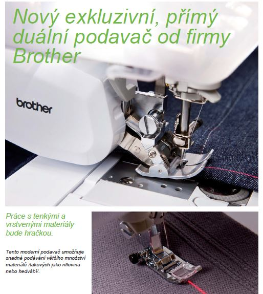 šicí a vyšívací stroj Brother INNOV-IS V7 + software PeDesign Plus2 ZDARMA-8