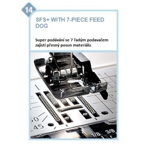 šicí stroj Janome MC 8200 QCP SE + dárek-7