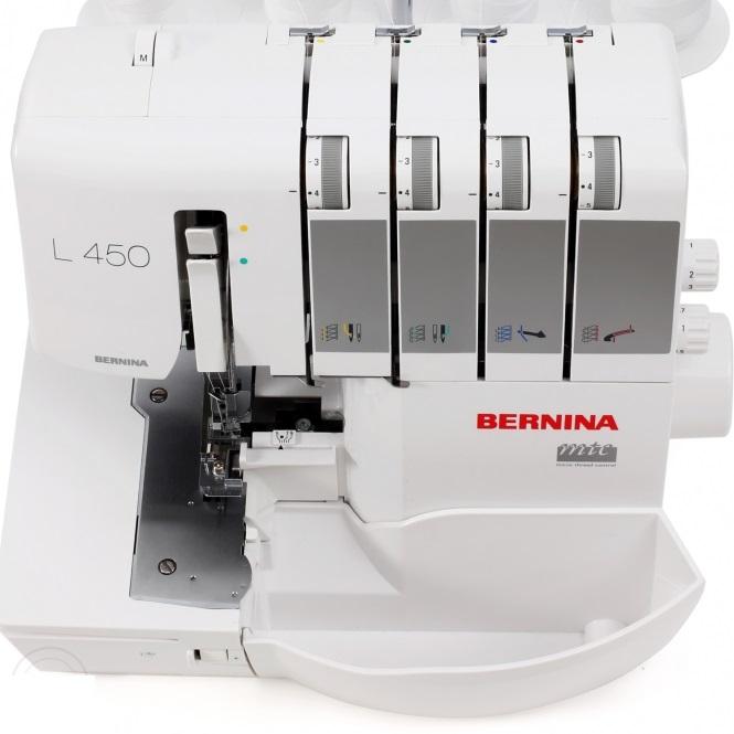 overlock Bernina L450 + sada nití ZDARMA-4