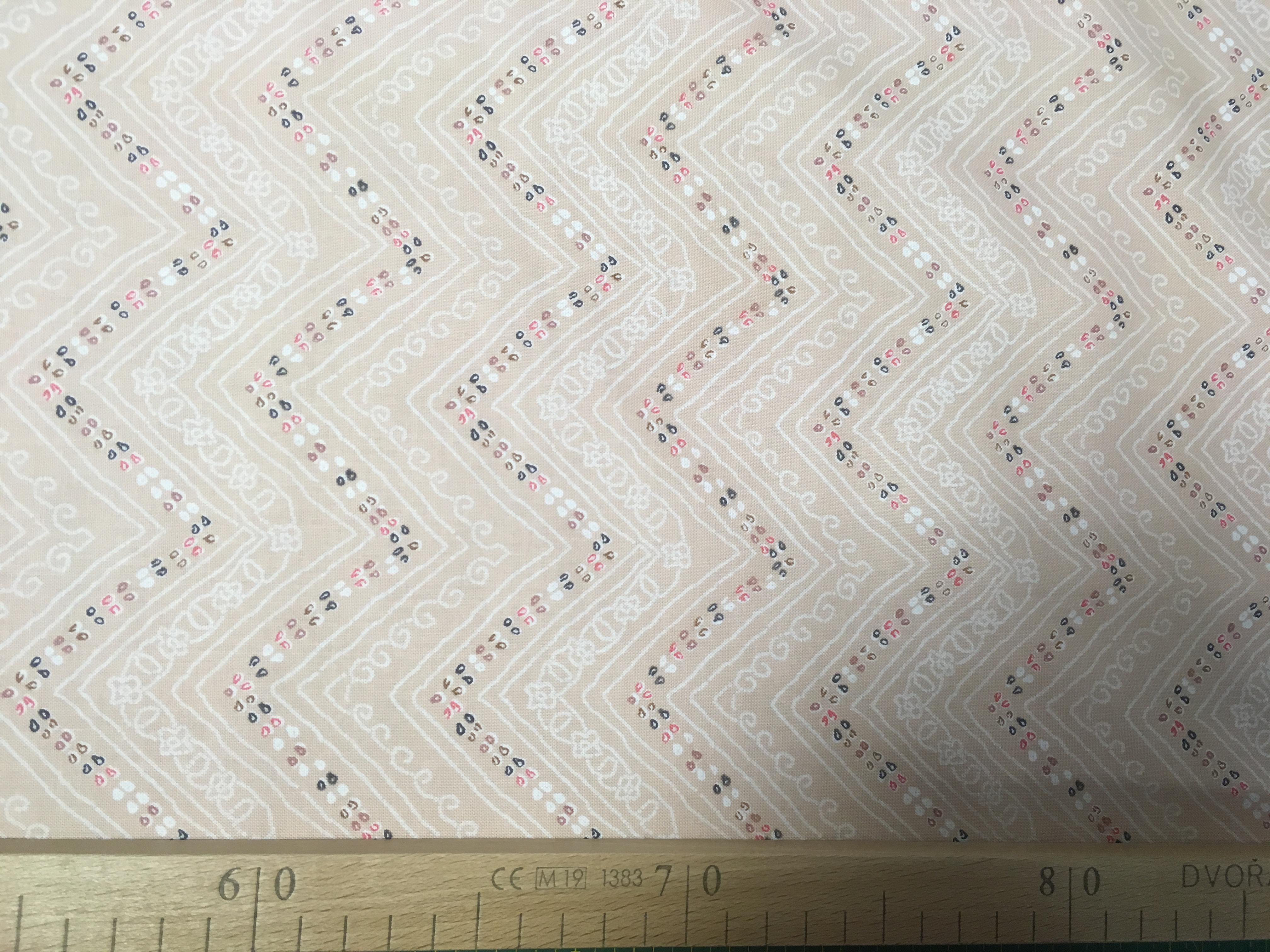 látka bhandari-sari-divia 100%bavlna 112cm šíře/rowan-1