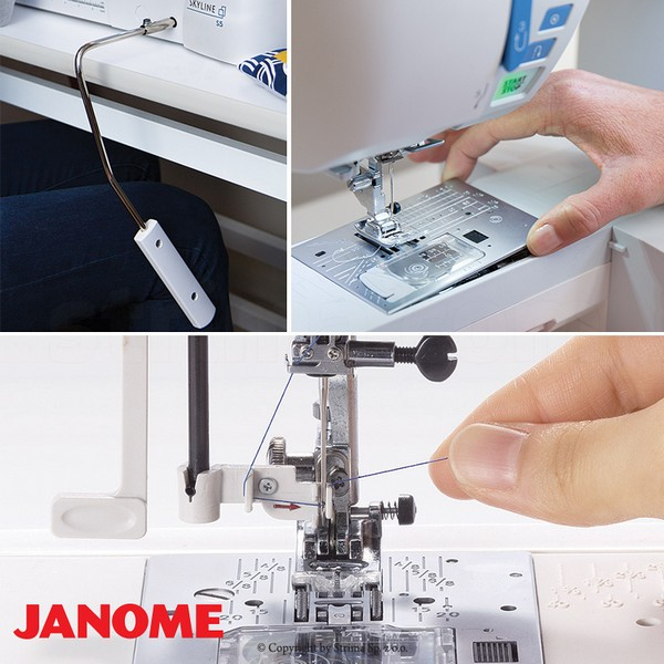 šicí stroj Janome Skyline S5 + dárek-1