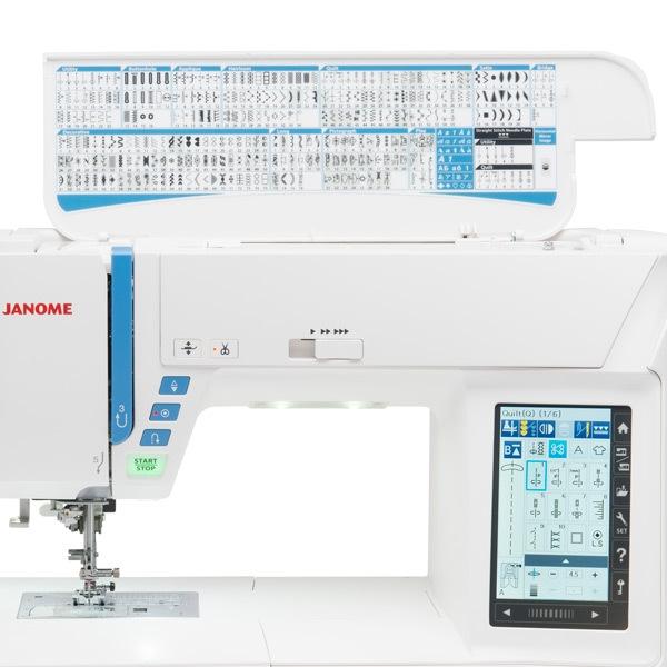 šicí a vyšívací stroj Janome Skyline S9 +dárek-3