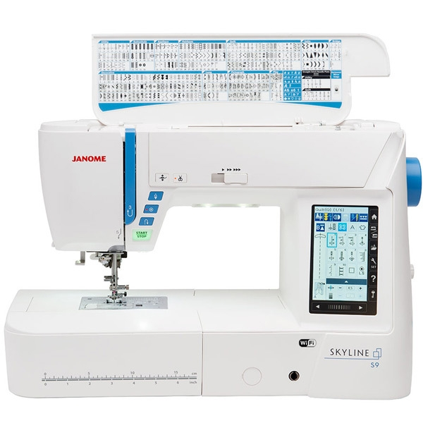 šicí a vyšívací stroj Janome Skyline S9 + sada kvalitních jehel Organ ZDARMA-7