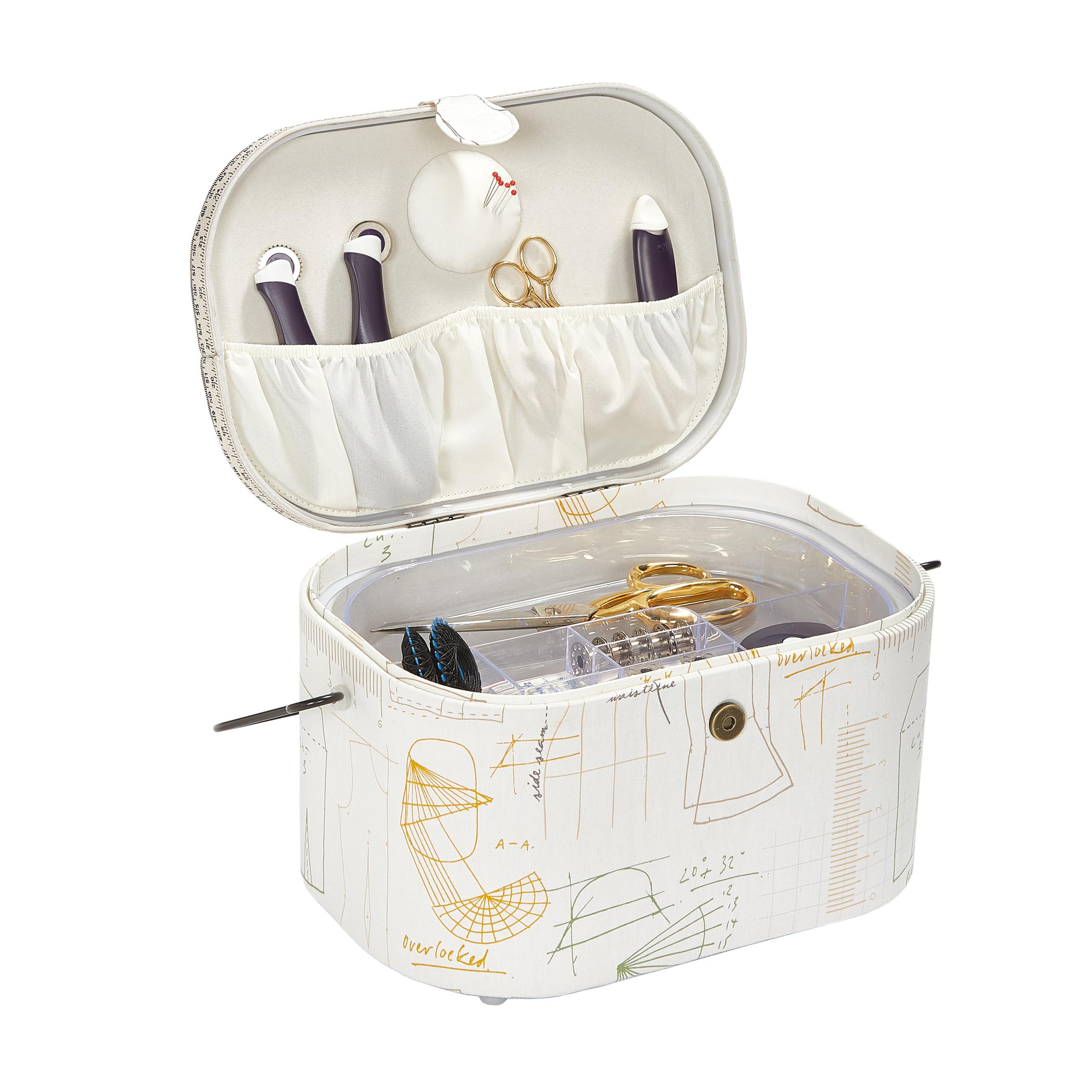kazeta - košík na šicí potřeby L Studio-1