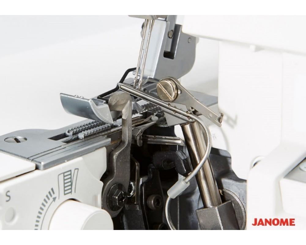 overlock Janome Air Threading 2000D  + sada kvalitních jehel Organ ZDARMA-2