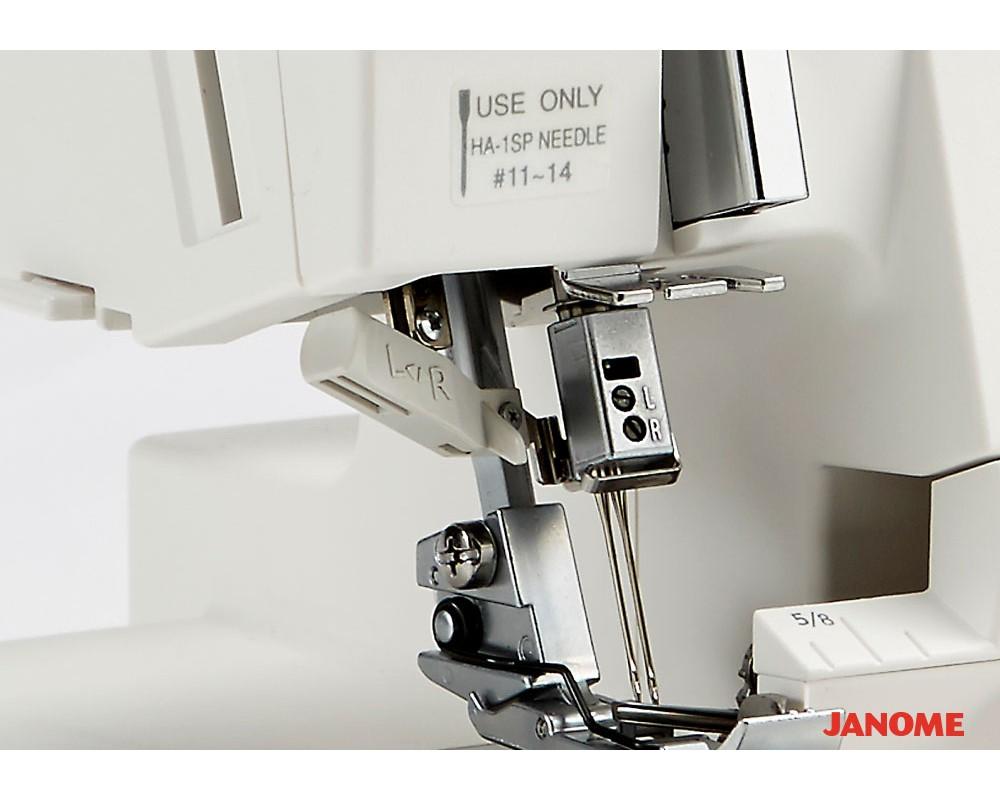 overlock Janome Air Threading 2000D  + sada kvalitních jehel Organ ZDARMA-3