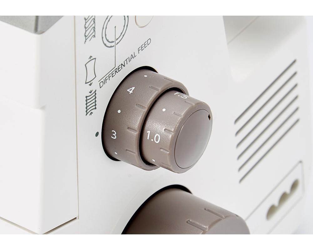 overlock Janome Air Threading 2000D  + sada kvalitních jehel Organ ZDARMA-4