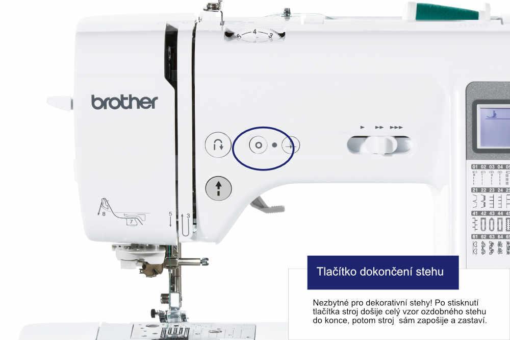 šicí stroj Brother Innov-Is A80 + sada kvalitních jehel Organ ZDARMA-4