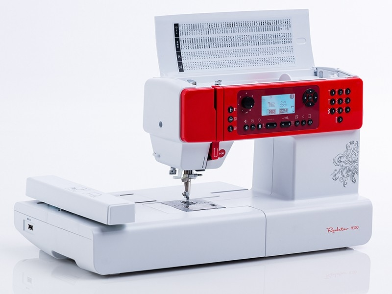 šicí stroj Redstar H300 + vyšívací program-1