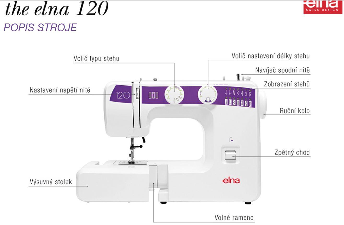 šicí stroj Elna 120-2