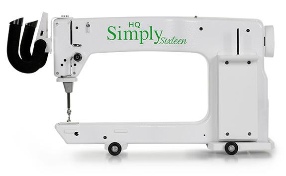 quiltovací rám se strojem Simply Sixteen 16-2