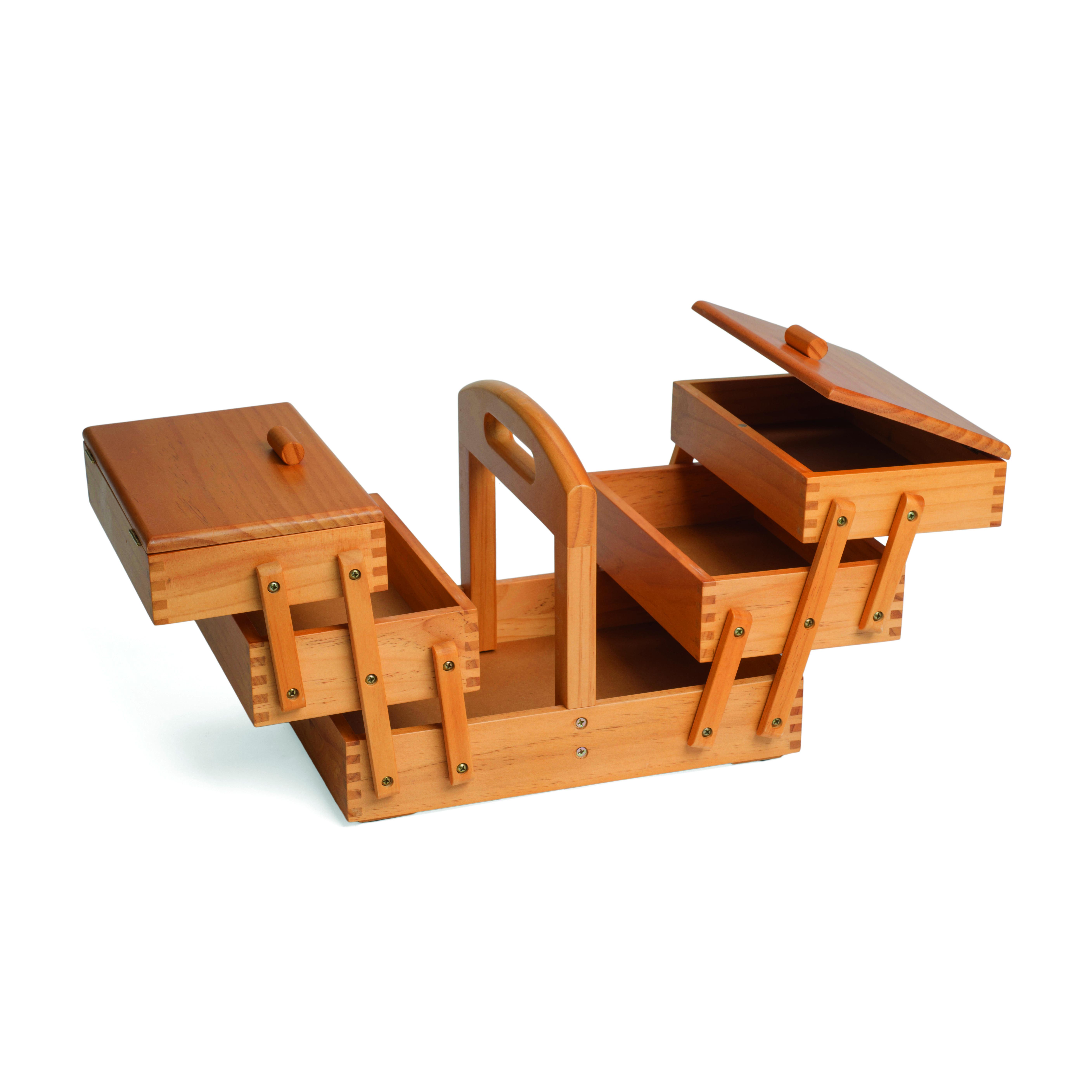 kazeta na šití dřevěná 31x23x24cm-1