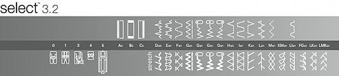 šicí stroj Pfaff Select 3.2 + dárek-5
