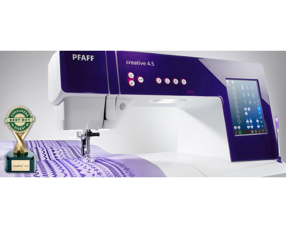 šicí a vyšívací stroj Pfaff Creative 4.5-1