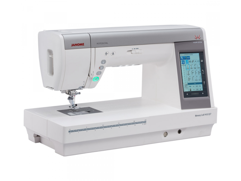 šicí stroj Janome MC 9400 QCP + dárek-2