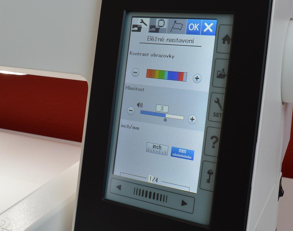 vyšívací stroj Janome 500 E + dárek-5