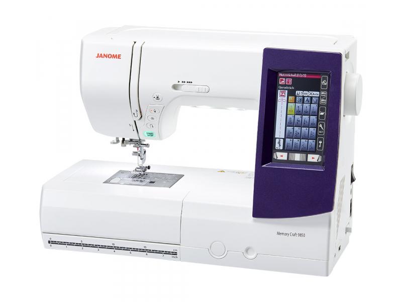 šicí a vyšívací stroj Janome MC 9900 + vyšívací software Janome Jr. ZDARMA-1
