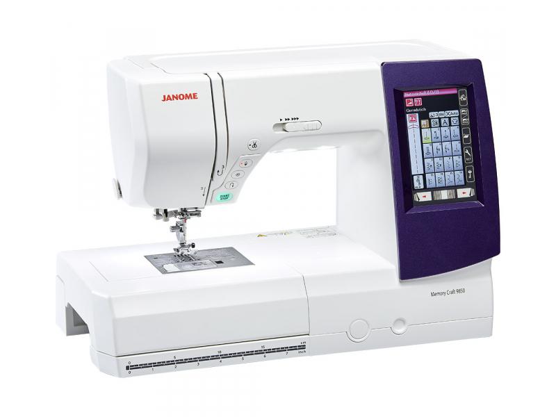 šicí a vyšívací stroj Janome MC 9900 + vyšívací software Janome Jr. ZDARMA-3