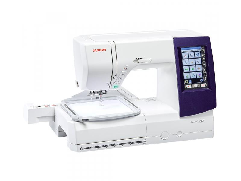 šicí a vyšívací stroj Janome MC 9900 + vyšívací software Janome Jr. ZDARMA-4