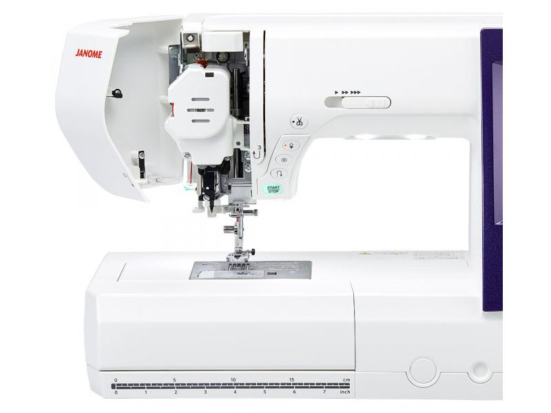 šicí a vyšívací stroj Janome MC 9900 + vyšívací software Janome Jr. ZDARMA-5