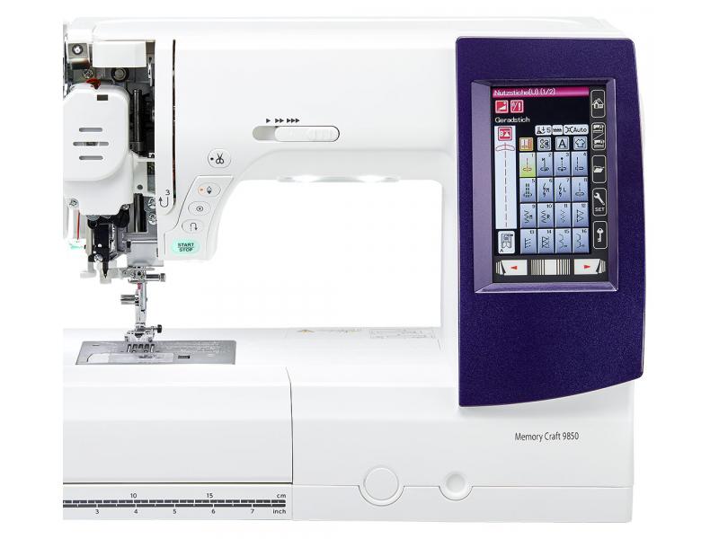 šicí a vyšívací stroj Janome MC 9900 + vyšívací software Janome Jr. ZDARMA-6