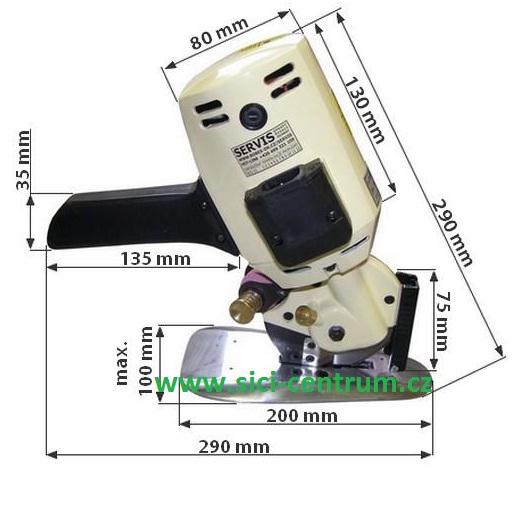 řezačka kotoučová RSD-100 4-1