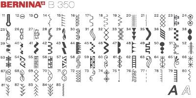 šicí stroj Bernina 350 PE Ruler-1