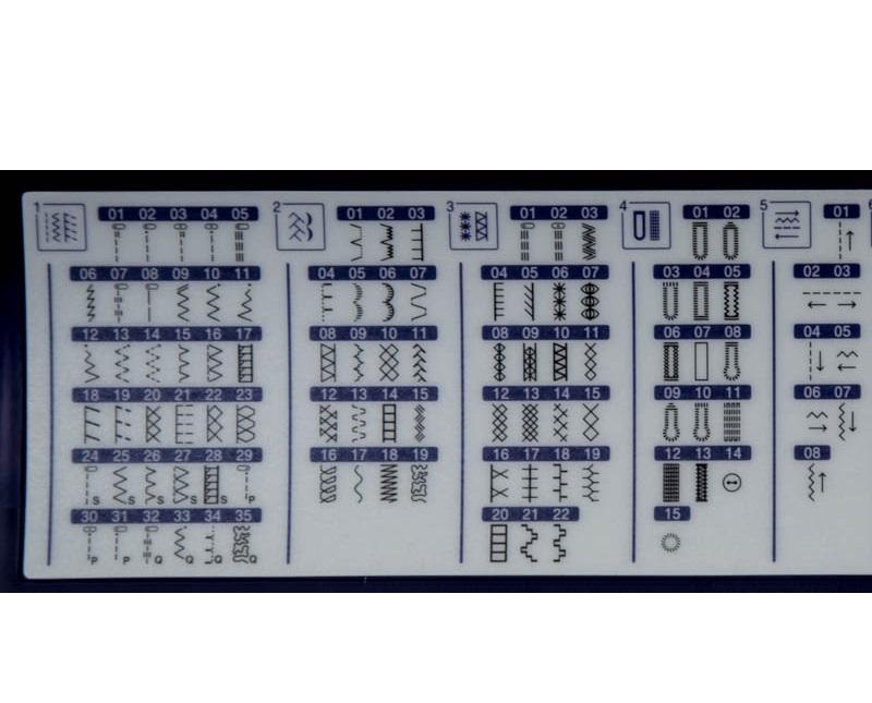 šicí a vyšívací stroj Brother NV 2600 + software PeDesign Plus2 ZDARMA-6