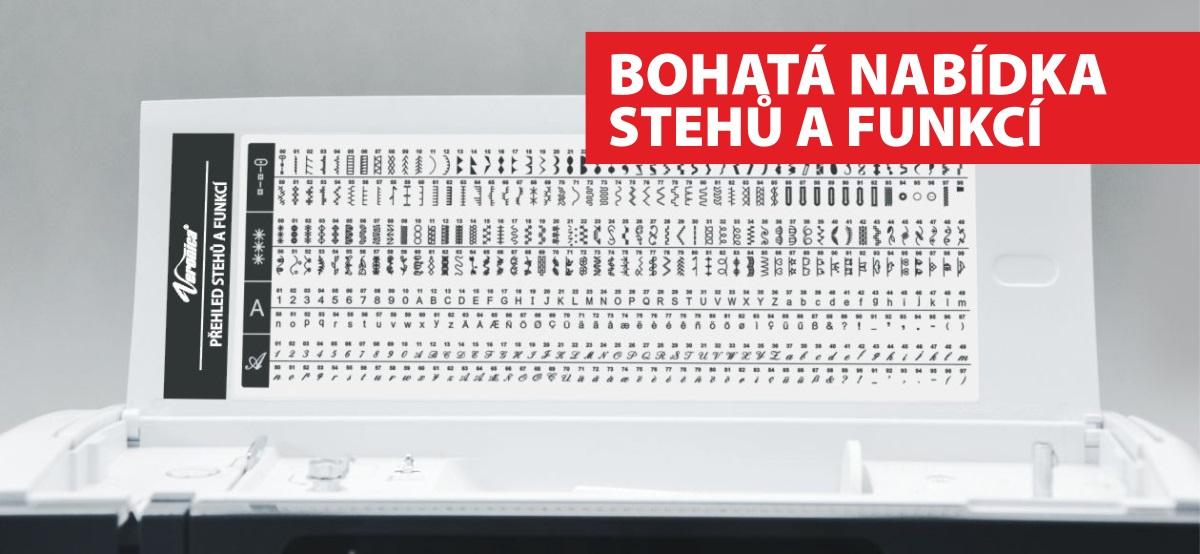 šicí a vyšívací stroj Bernette Chicago 7 + výšivky ZDARMA-3