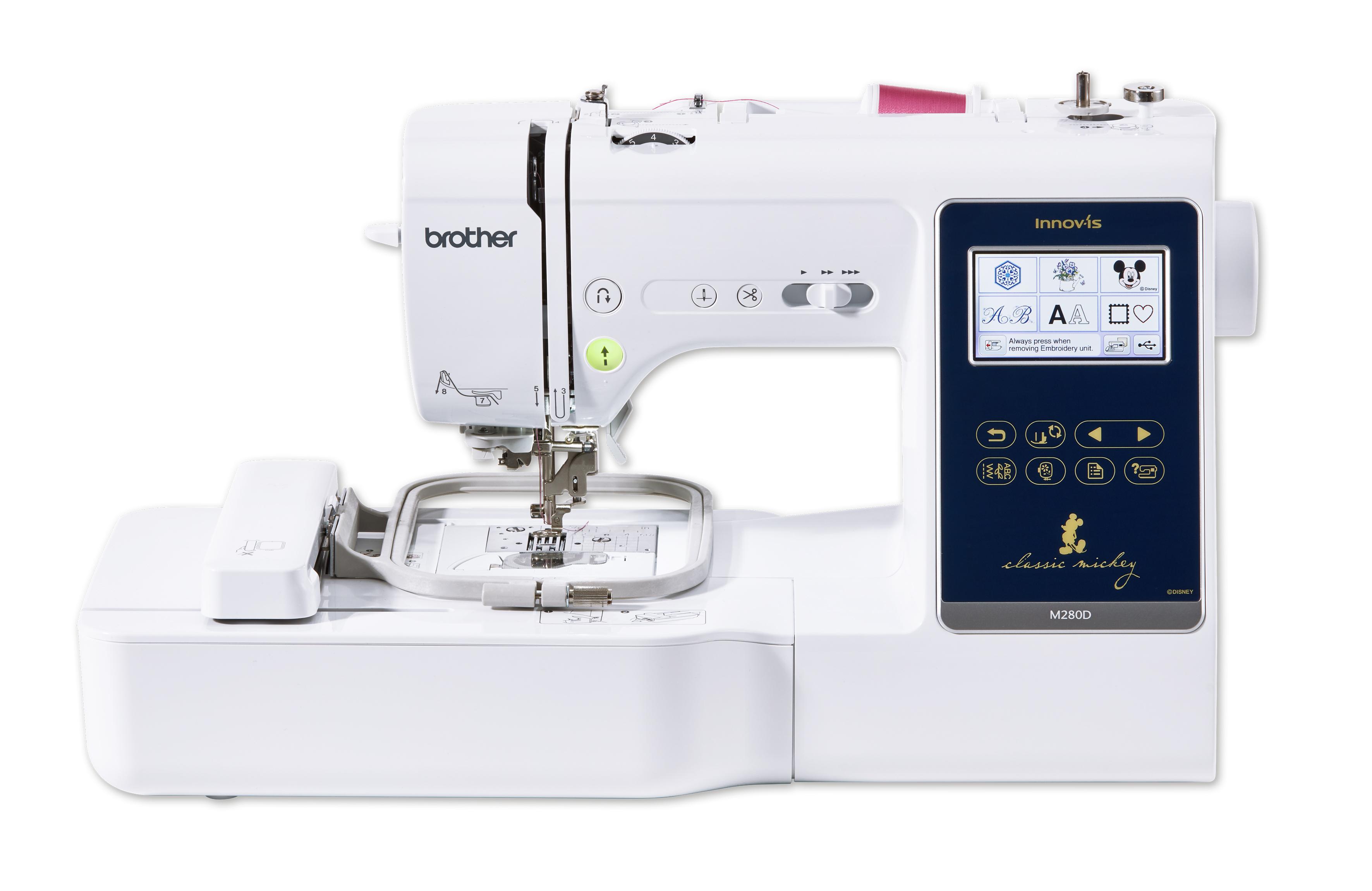 šicí a vyšívací stroj Brother M280D + dárek-1