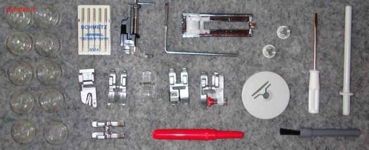 šicí stroj Gritzner 6152 + 3 roky záruka-3
